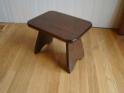 Black Walnut Stool